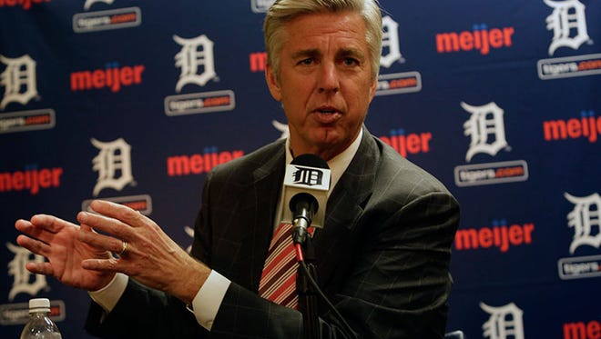 Tigers president and general manager Dave Dombrowski