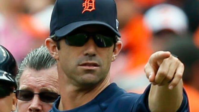 Tigers manager Brad Ausmus