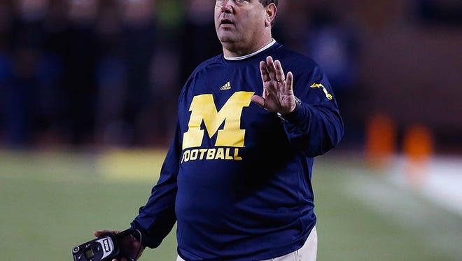 Michigan coach Brady Hoke
