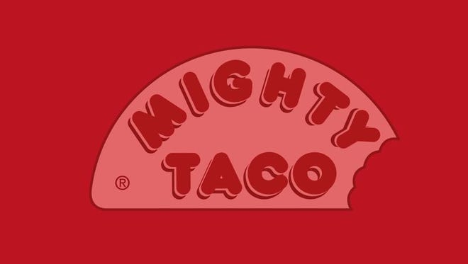 The Mighty Taco logo.