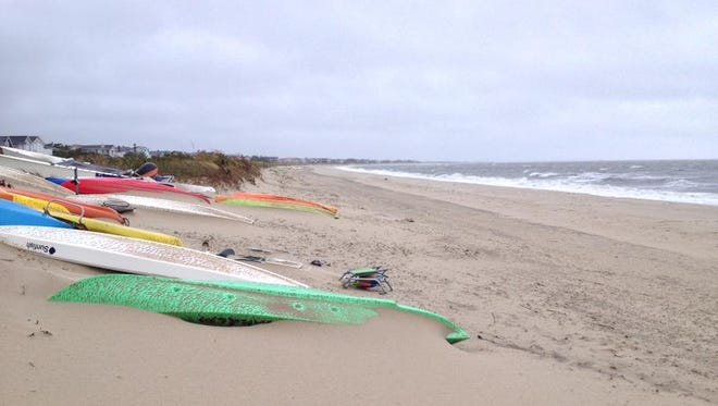 Lewes beach is closed from Tuesday, June 5 until Wednesday, June 6 because of high bacteria levels, officials said.