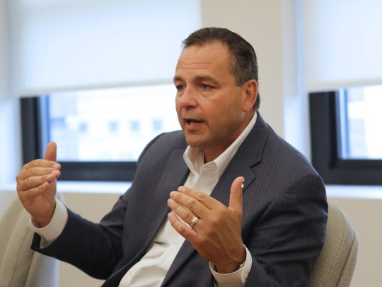 Mark Vergnano, CEO of the DuPont spinoff Chemours,