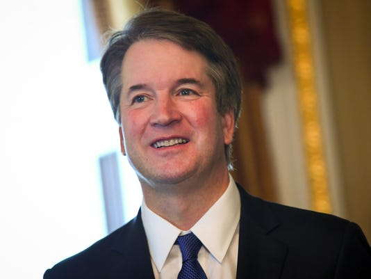 USP NEWS: SUPREME COURT NOMINEE BRETT KAVANAUGH A USA DC