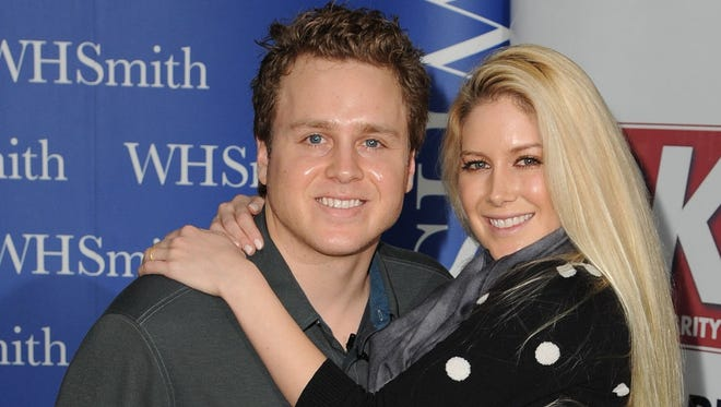Spencer Pratt and Heidi Montag.