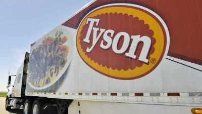 """Tyson Foods, one of Henderson's largest production plants, made the list of """"America's Best Employers"""" operating in the state of Kentucky."""