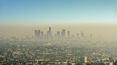 The Department of Environmental Protection issued an air quality action day forecast on Friday.