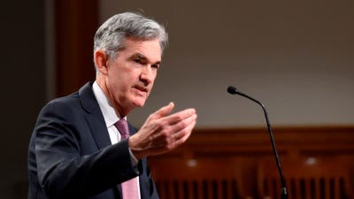 The Federal Reserve, led by Chairman Jerome Powell, looks divided.