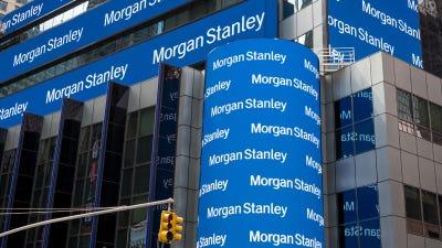 Morgan Stanley acquired discount broker E*Trade is a $13 billion deal.