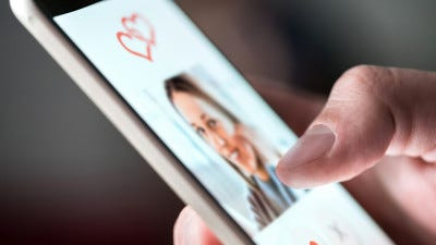 Almost half of U.S. online users have met or know someone who has met a romantic partner on a dating website or app.