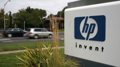 HP on Sunday rejected a buyout offer of $22 a share in cash and stock from Xerox, but a deal is not dead yet.
