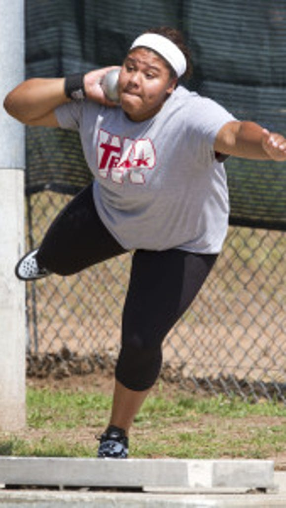 Whippany Park junior Nickolette Dunbar won the NJSIAA Meet of Champions shot put, breaking the Morris County, meet and New Jersey records.