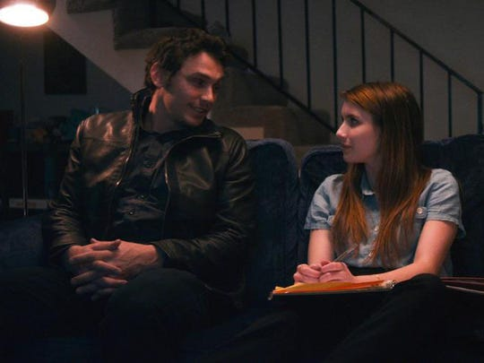"""James Franco and Emma Roberts in a scene from """"Palo Alto."""""""