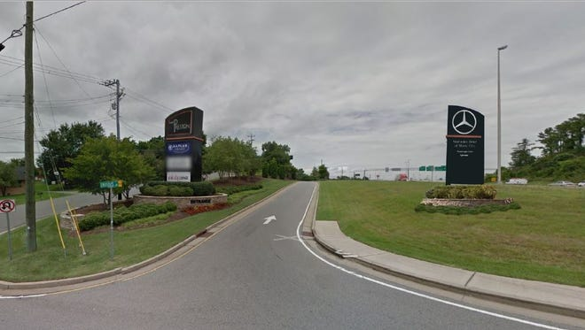 A monument ground sign was approved last week for the Mercedes Benz of Music City rising at 700 Envious Lane.