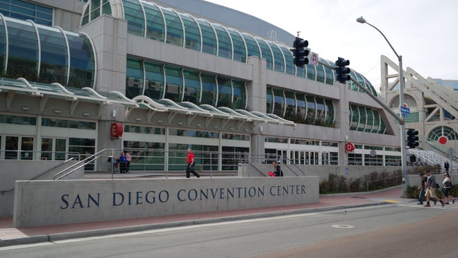 A view of the San Diego Convention Center. California Democrats hosted their annual convention in preparation for this year's midterm elections, February 26, 2018.