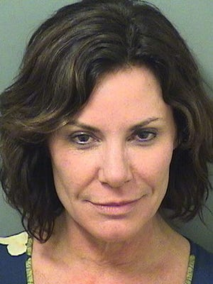 """This Sunday, Dec. 24, 2017 photo provided by the Palm Beach County Sheriff's Office shows Luann de Lesseps, a star of the reality television series """"'The Real Housewives of New York City"""".'"""