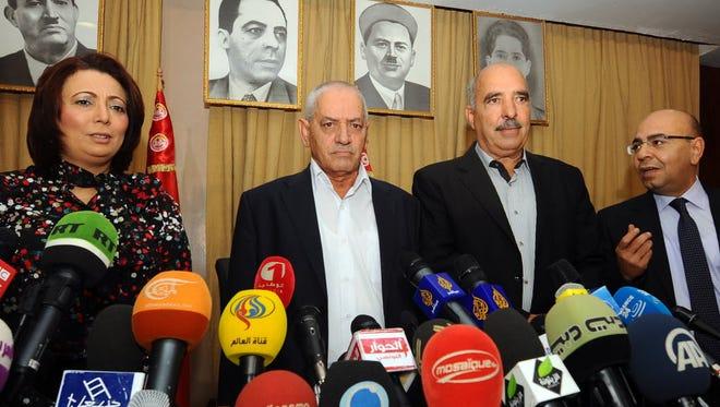 Mediators of Tunisia's National Dialogue Quartet won 2015's Nobel Peace Prize.