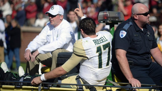 Baylor quarterback Seth Russell will have surgery on his ankle.