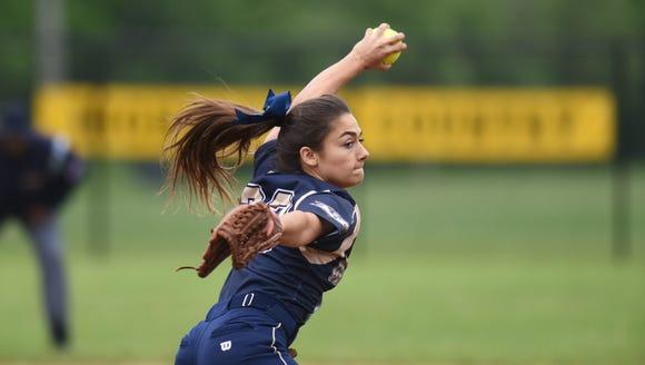 NV/Old Tappan pitcher Julie Rodriguez was named Gatorade's