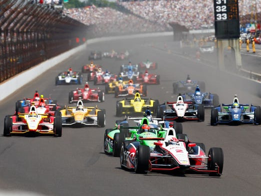 """The Greatest Spectacle in Racing,"" the Indy 500 is"