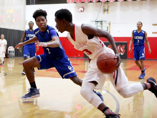 Palm Springs junior Damien King will look to take on a much bigger role in the front court for the Indians this season after losing two star players to graduation.