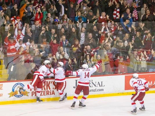 Cornell Mens Ice Hockey vs the Russian Red Stars