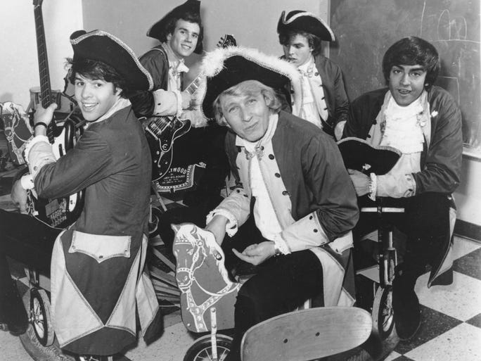 Paul Revere The Raiders Hard N Heavy With Marshmallow