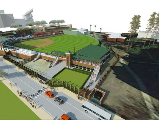 A $4 million project for Plainsman Park near the right