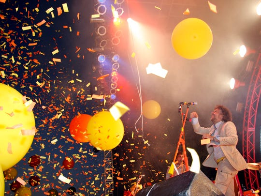 The Flaming Lips perform at 80/35 in 2008.