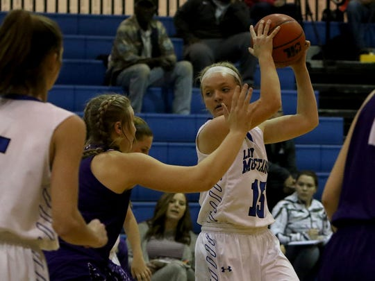City View's Mackenzie Cave is one of several returning players the Lady Mustangs hope can lead to move success on the court this season.