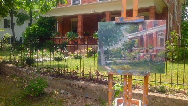 Waynesboro home of M. Stephen Doherty, painter, author and editor of PleinAir magazine.