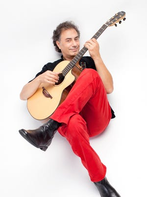 French-Algerian guitarist Pierre Bensusan performs Friday at the Trumansburg Conservatory of Fine Arts.