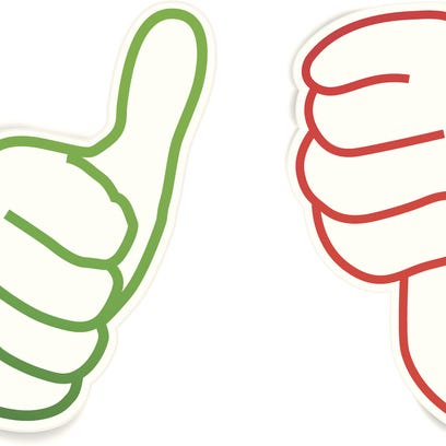 Our thumbs up, thumbs down for the week
