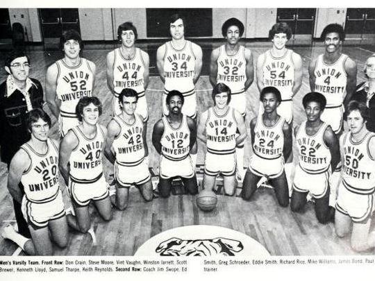 Winston Jarrett was recruited by Union University's Jim Swope, who left UT Martin for Union. Union University was nearly a decade into desegregation when Winston Jarrett arrived in 1975.