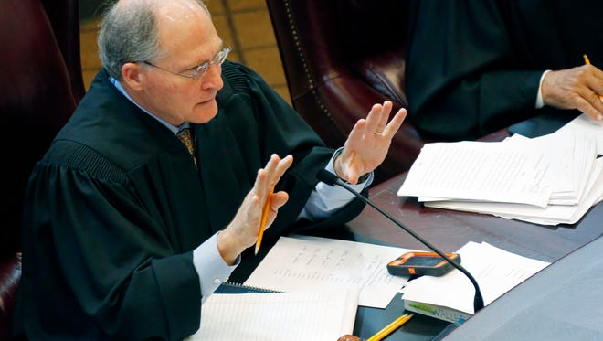 State Chief Justice William Waller Jr. to retire in January.