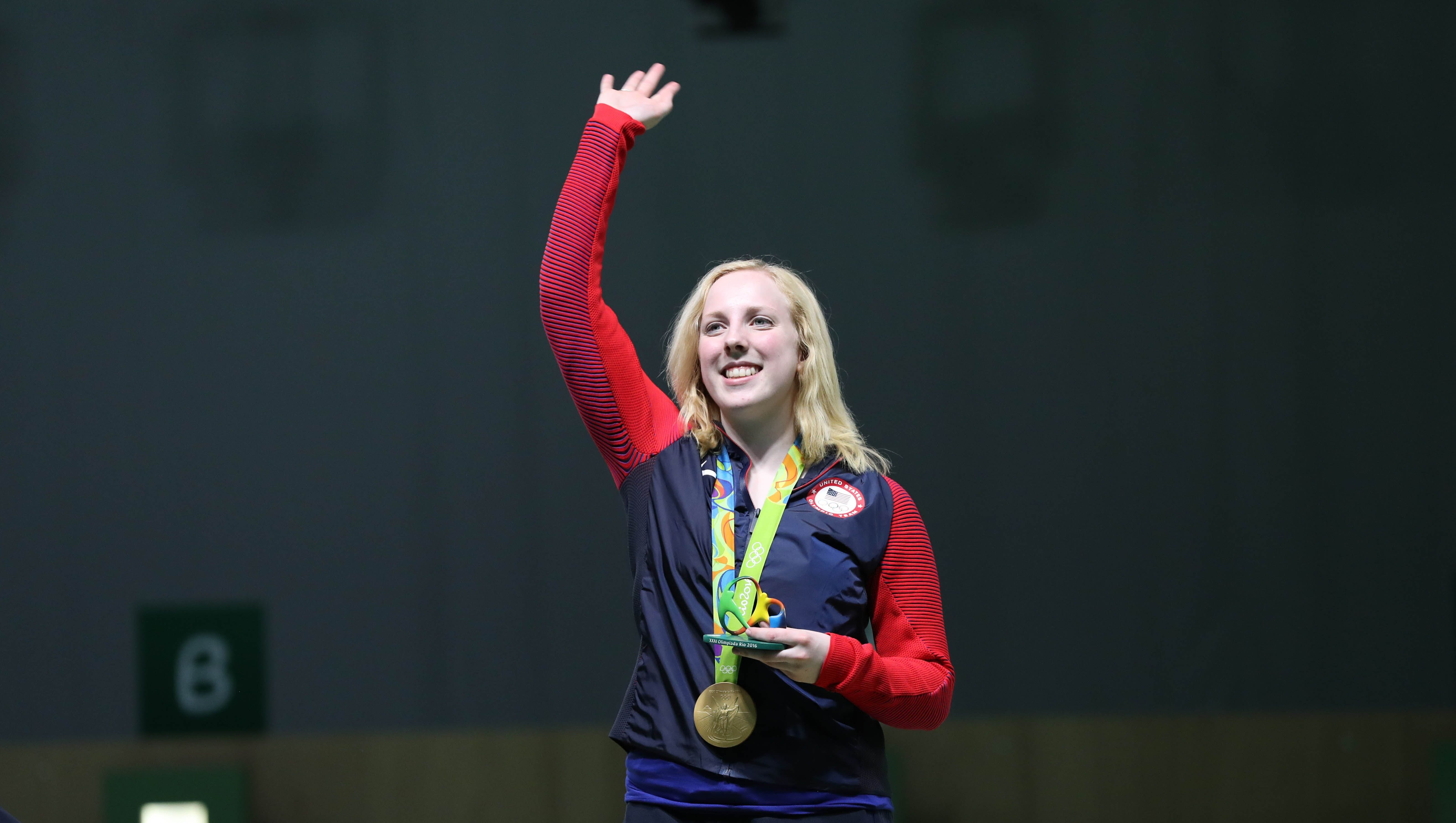 Thrasher claims 1st Rio gold