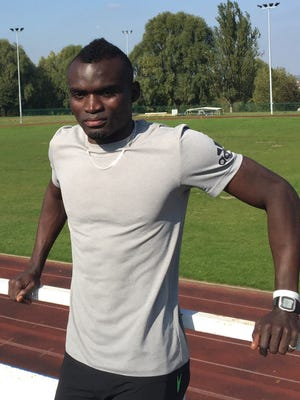 Sierra Leone sprinter Jimmy Thoronka