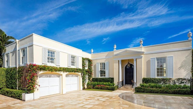 A remodeled 1959 house at 100 Regents Park Road has sold for $7.79 million, according to the deed recorded Thursday. Insurance executive and Palm Beach real estate investor Peter J. Worth sold the house to John and Carole Moran, who have owned a house down the street on Billionaires Row since 1989.