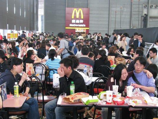 temporary McDonalds