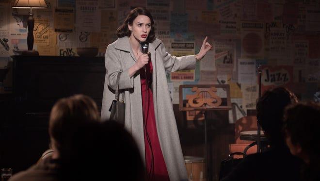 "Best actress, comedy: Rachel Brosnahan, ""The Marvelous Mrs. Maisel,"" Amazon"