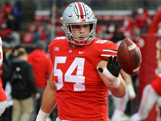 Ohio State's Billy Price won the Rimington Trophy,