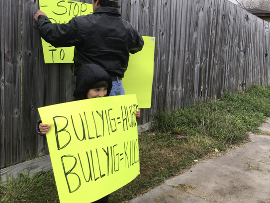TheFacebook page named Stop Bullying in CCISD was
