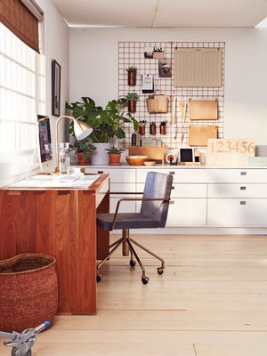 An organized, comfortable work space provides an essential platform for all your projects.