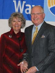 Don and Tina Peters, longtime supporters of United