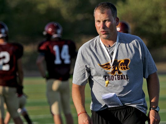 Brad Zelenovich left Southeast Polk after 10 years as an assistant to become Ankeny's head coach. After two seasons and a pair of playoff berths with the Hawks, he's back at Southeast Polk as head coach.