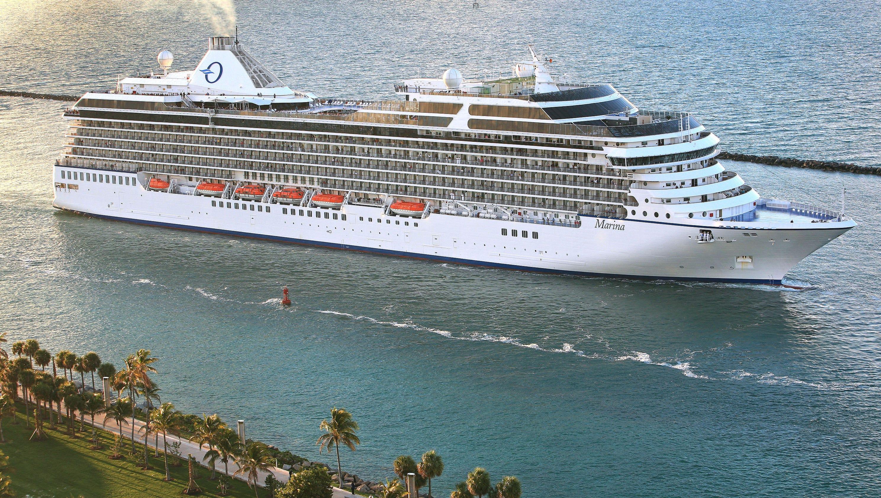 Cruise ship tours: Oceania Cruises' Marina