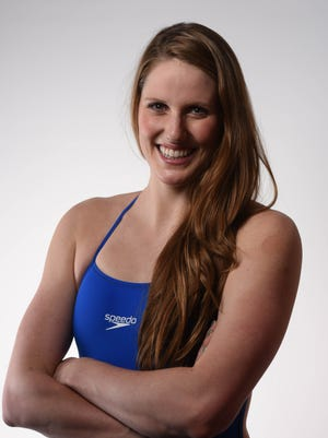 Missy Franklin poses for a portrait during the 2016 Team USA Media Summit at the Beverly Hilton on March 7, 2016.