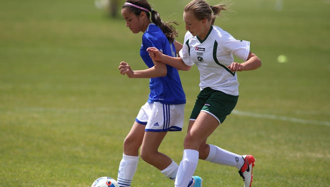 Halle Huber and the Montana Rush U-15 girls' soccer team will be among about 35 teams and 500 athletes competing in the inaugural Montana Rush Cup on Saturday and Sunday at Siebel Soccer Complex.