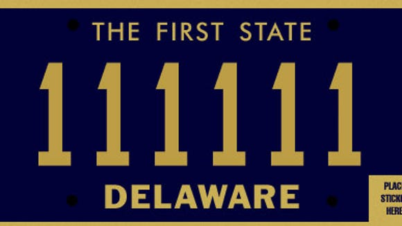 new delaware license plate will honor veterans