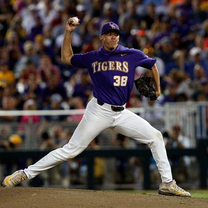 Hess truly 'Wild Thing' as LSU falls behind 8-1 and loses to Notre Dame