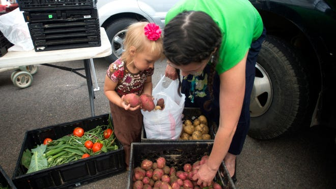 Don't forget to grab your summer produce at a local farmers' market this weekend.
